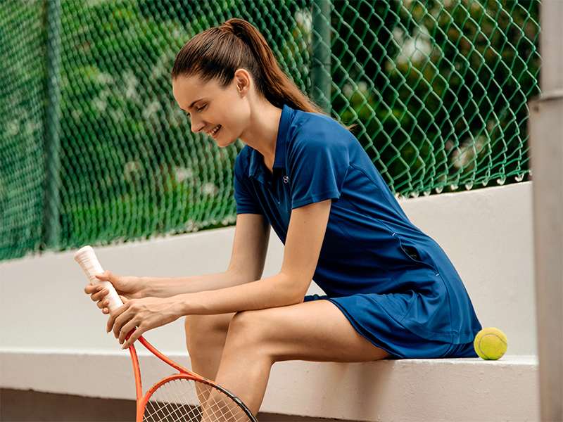 Tennis women active outfit
