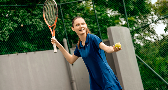 Women active fitness sports tennis clothing